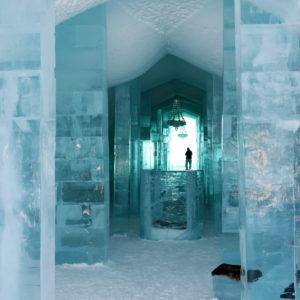 Hebergement insolite Ice Hotel en Suede