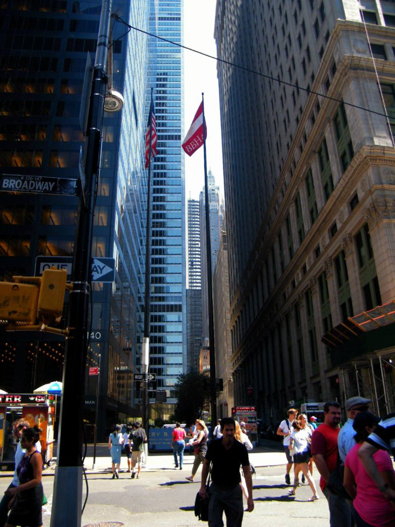 Rue de New York, Manhattan, USA