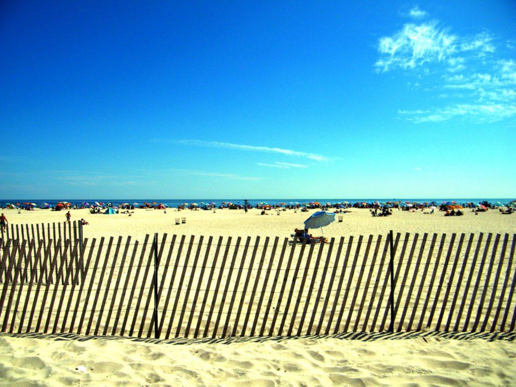 Plage à Long Island découverte lors d'un road trip aux USA