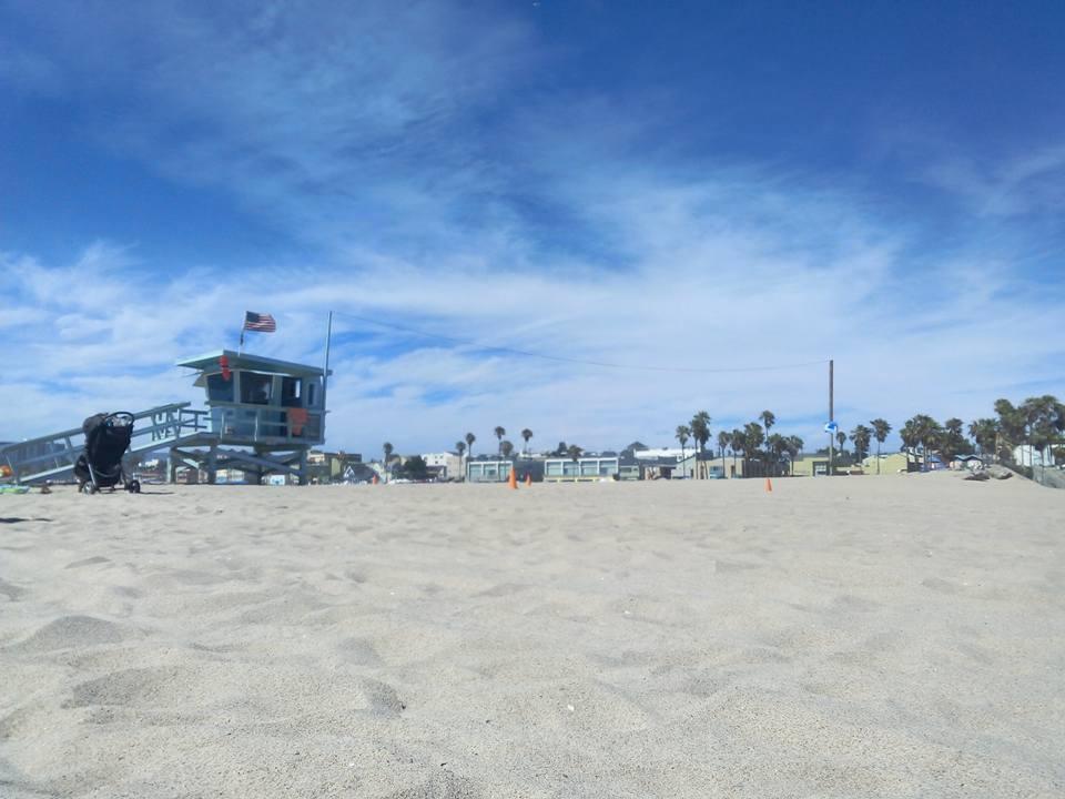 Beach Los Angeles USA
