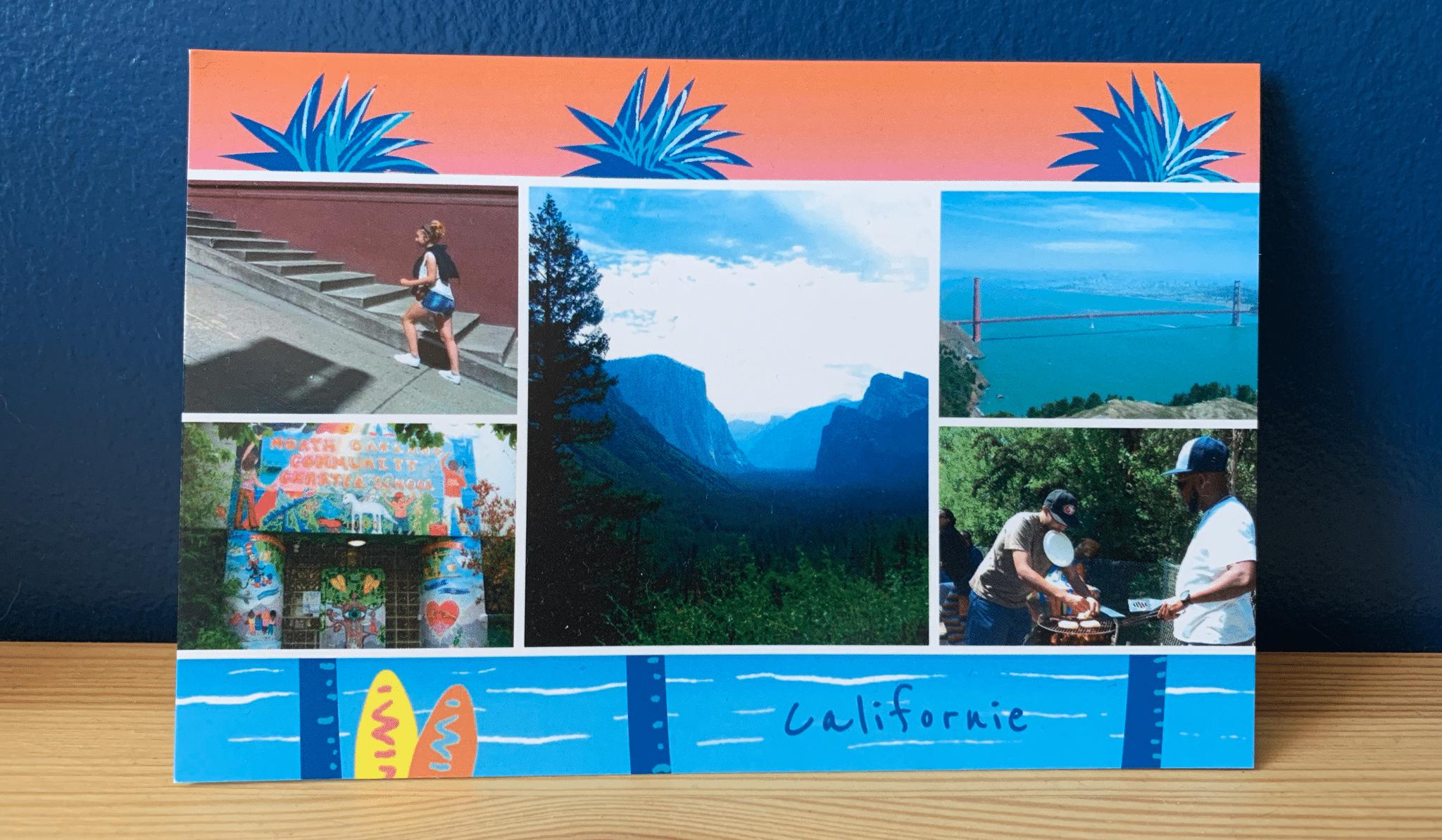 Carte postale USa Californie