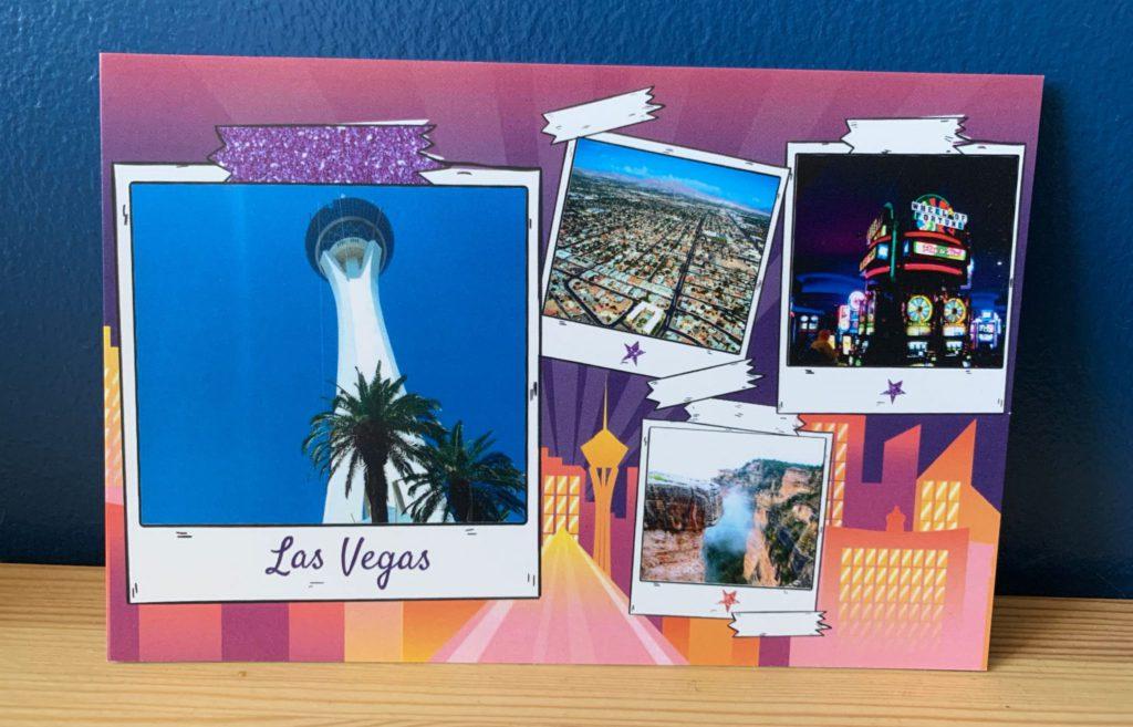Carte postale USA Las Vegas