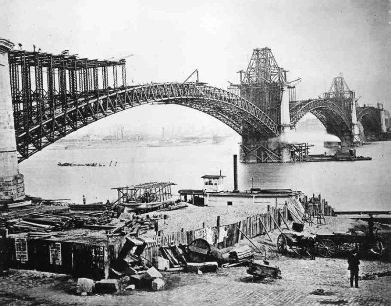Photo du Pont Eads à St-Louis aux USA