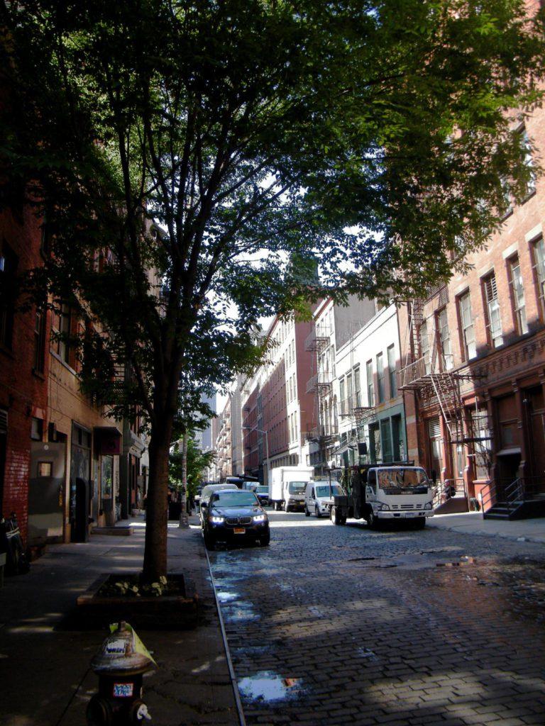 Quartier de Soho à Manhattan