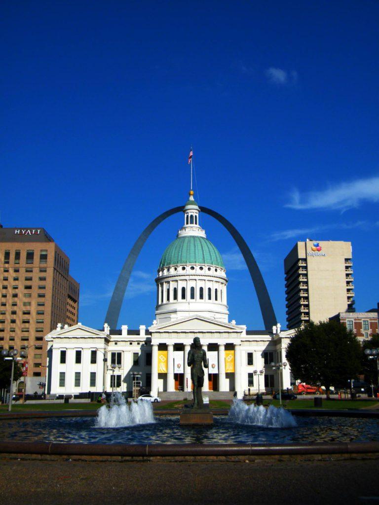 St-Louis Missouri downtown