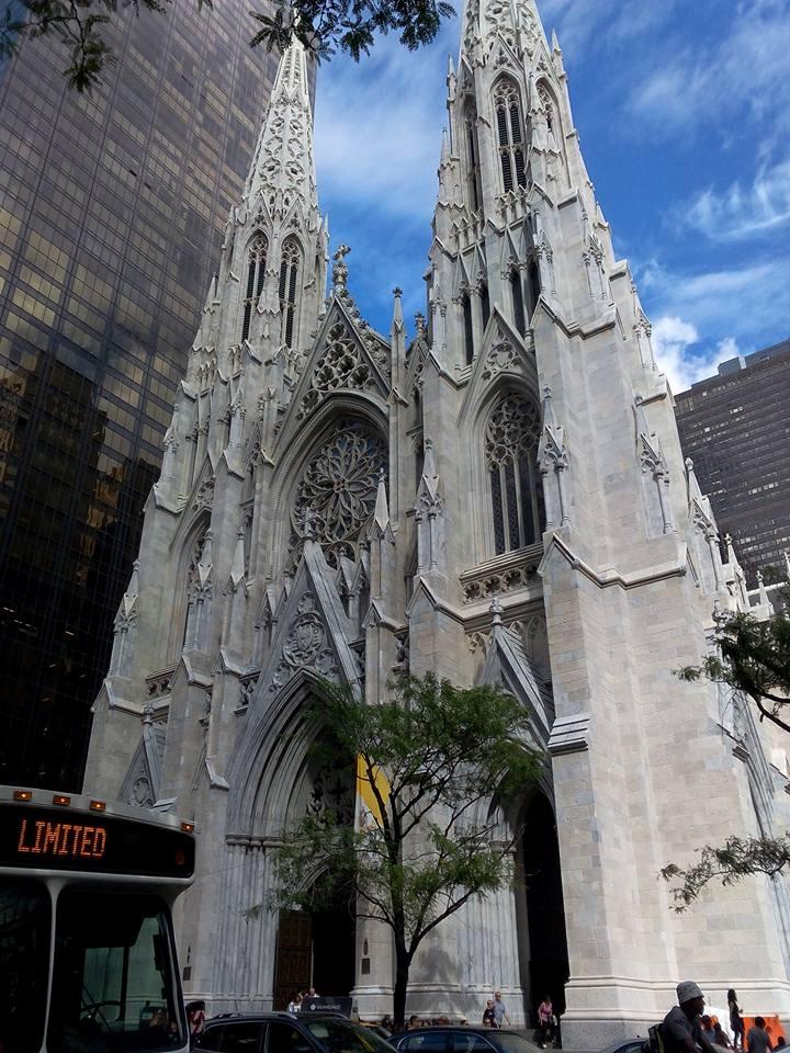 Cathédrale St Patrick à New York