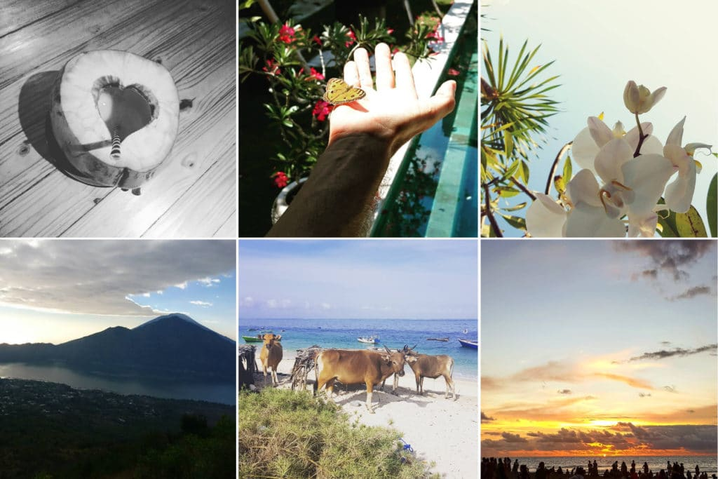 Carte postale personnalisée de Bali envoyée par Charles-Louis