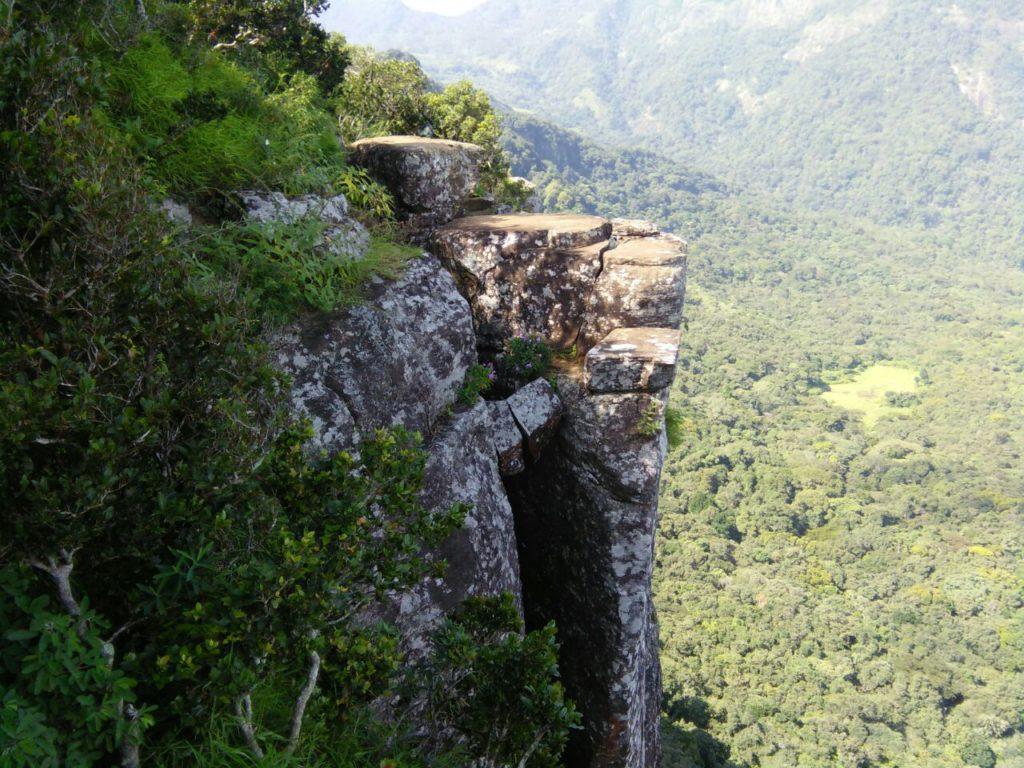 "Paysage nommé ""Bout du monde"" au Sri Lanka"