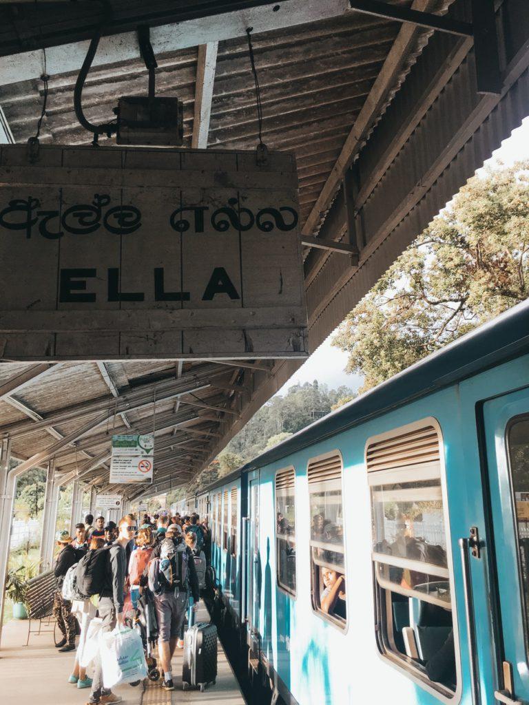Ella Sri Lanka Train Station
