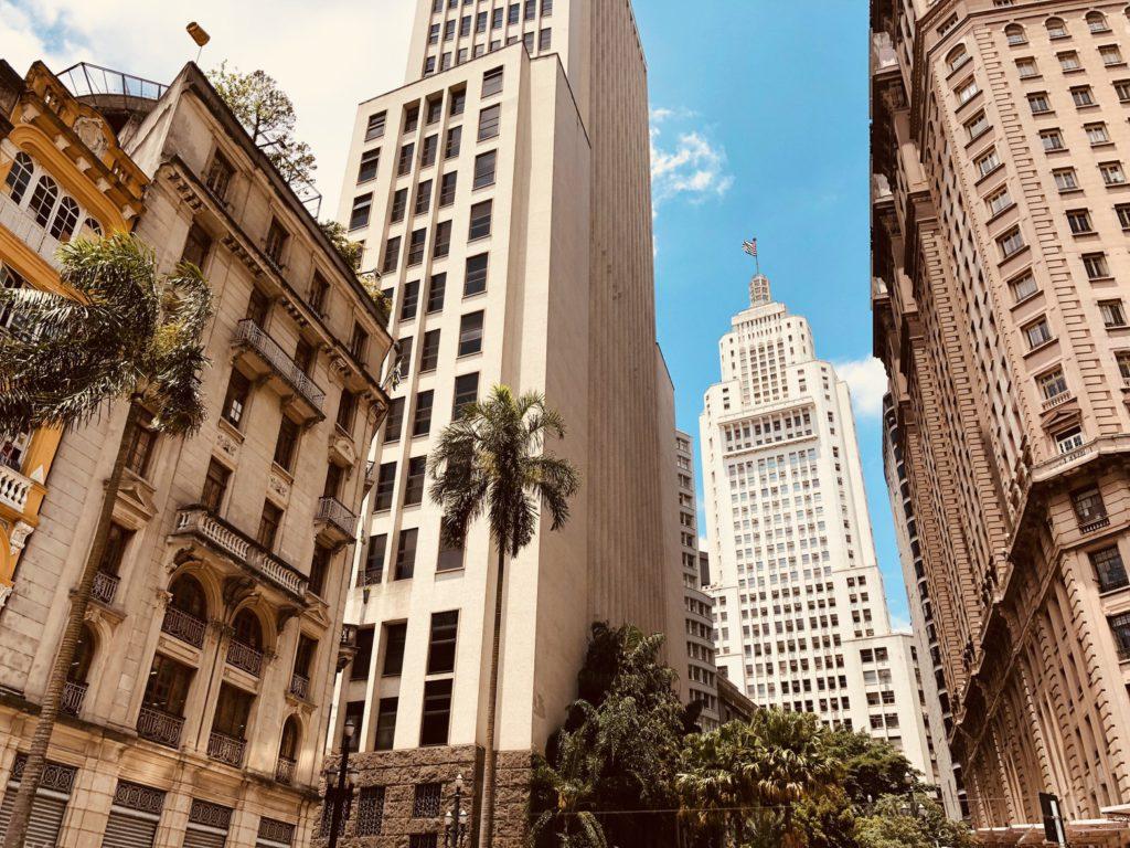 Photo de la ville de Sao Paulo au Brésil pour une destination à découvrir en juin
