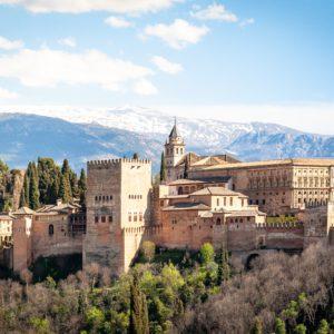 Alhambra cite Maure en Andalousie Espagne
