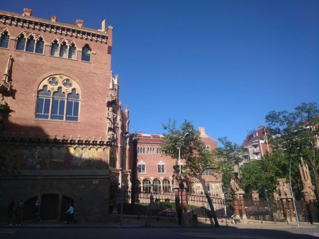 Hôpital Sant-Pau à Barcelone