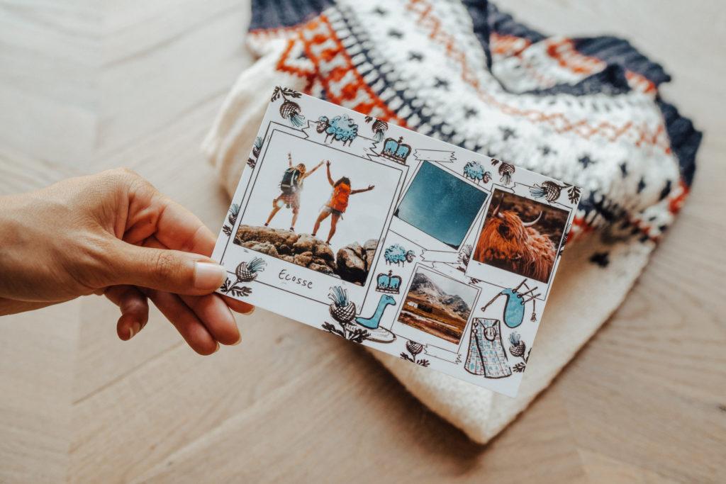 Carte postale Ecosse