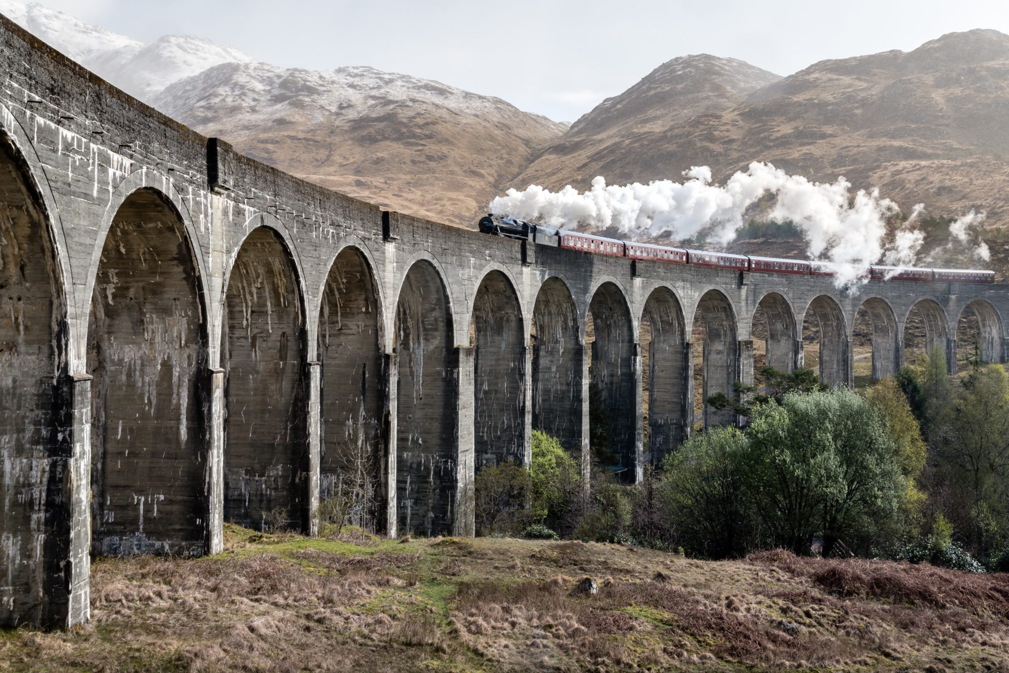 Viaduc Glenfinnan Harry Potter