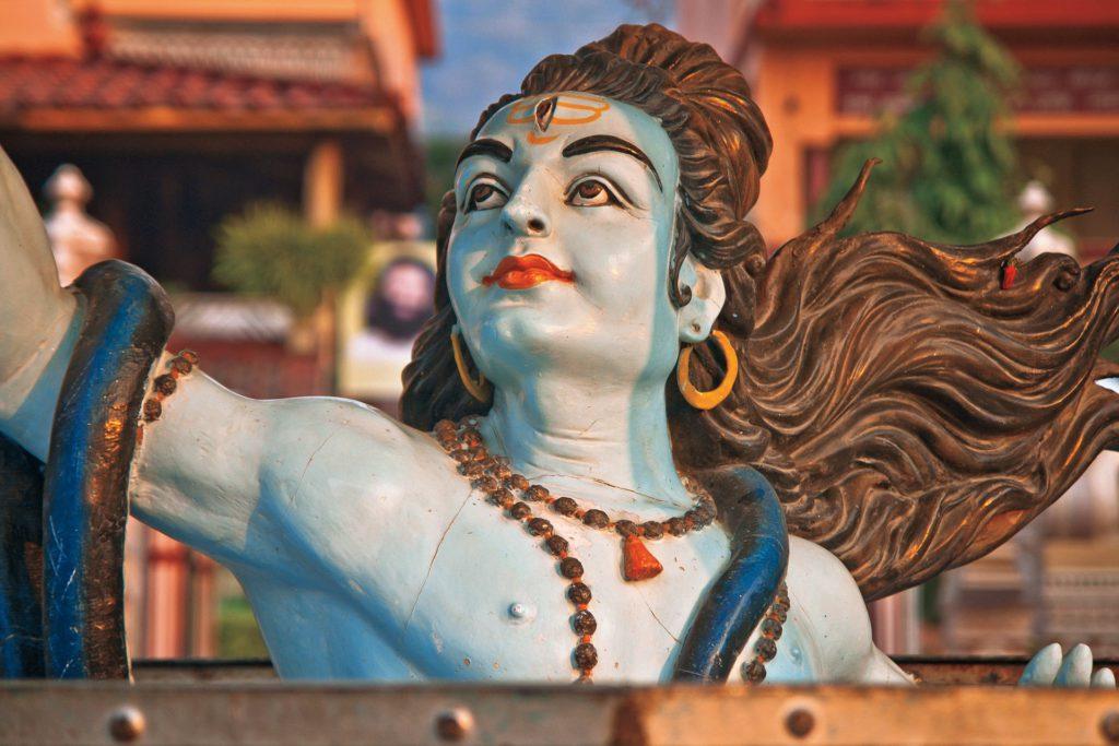 Statue de dieu, Inde, Rishikesh
