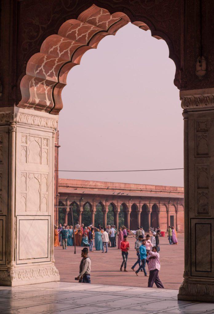 Jama Masjid construit par Shah Jahan Taj Mahal