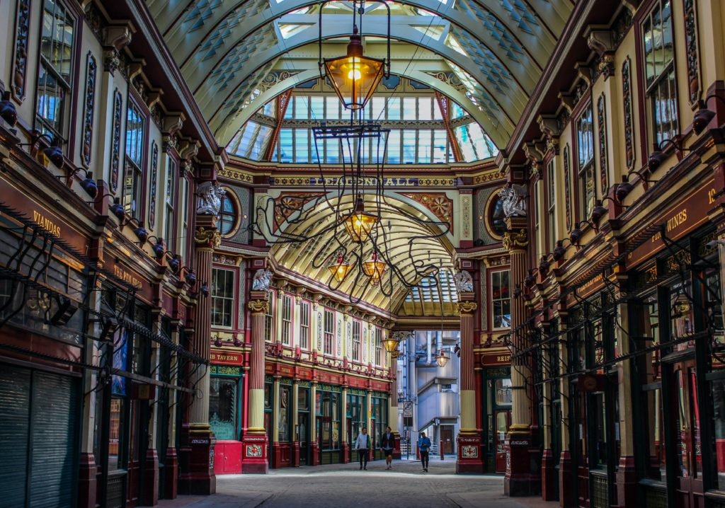 Leadenhall Market Chemin de Traverse Londres