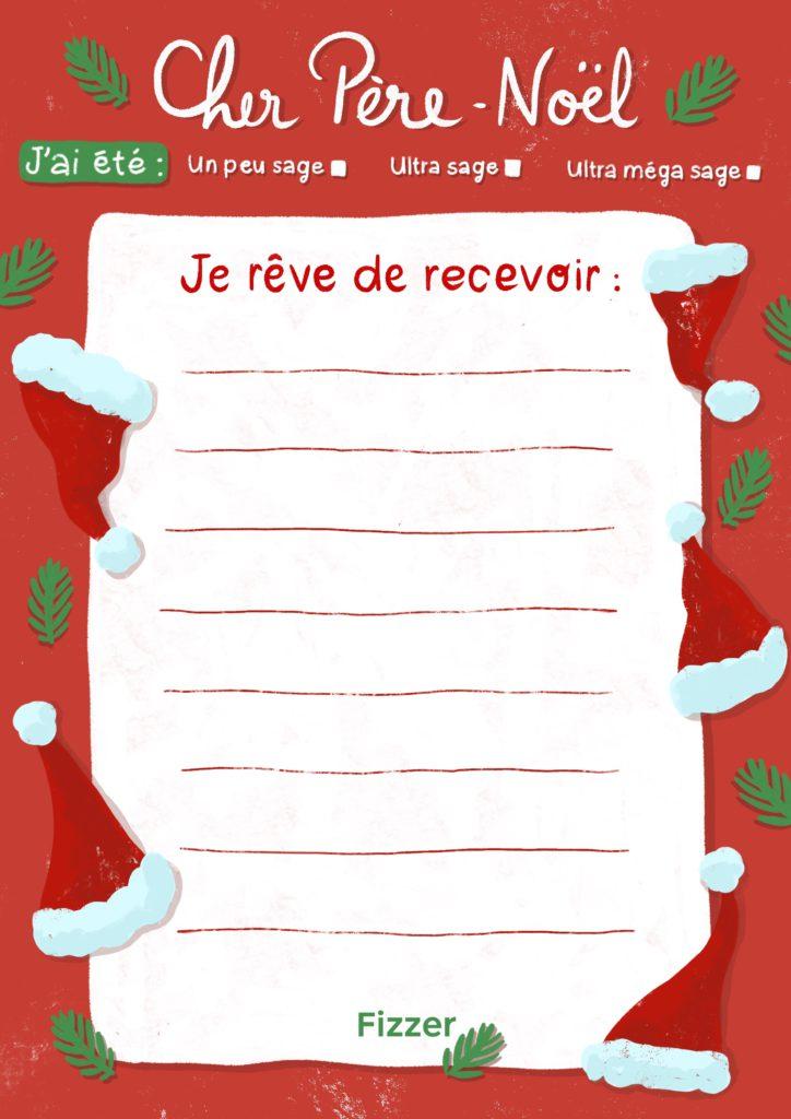 Liste de jouet lettre au Pere Noel