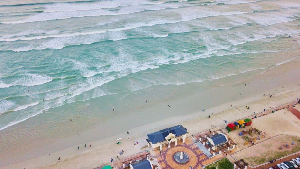 Muizenberg spot de surf en Afrique du Sud