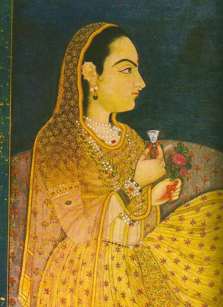 Peinture portrait Mumtaz Mahal