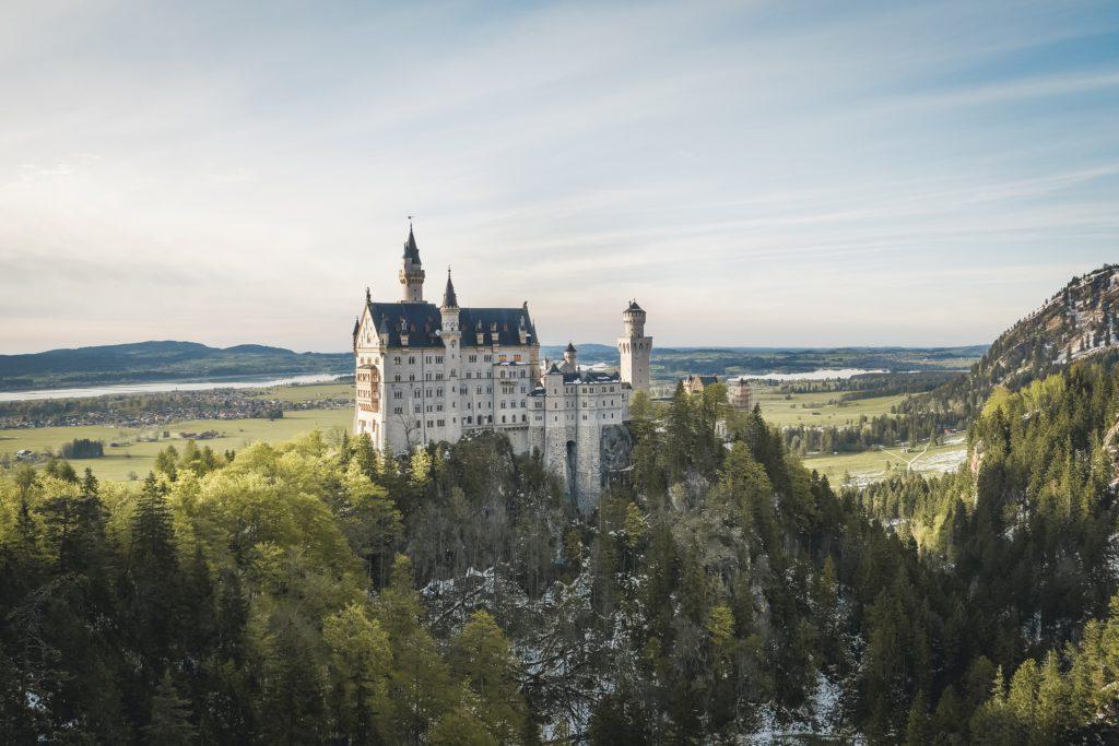 Chateau de Neuschwanstein en Allemagne