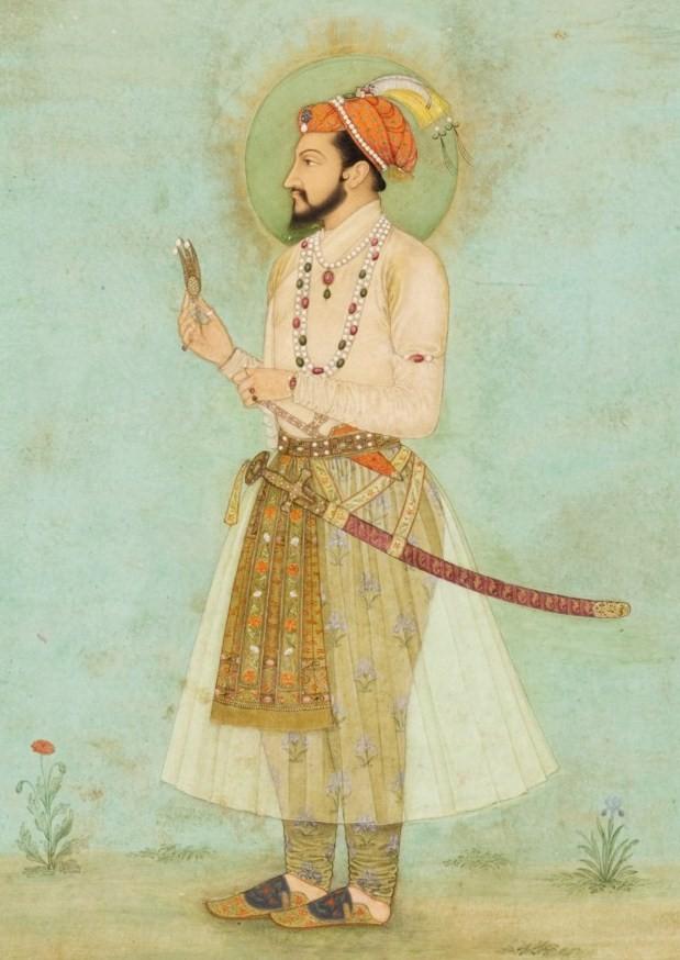 peinture portrait de Shah Jahan en Inde