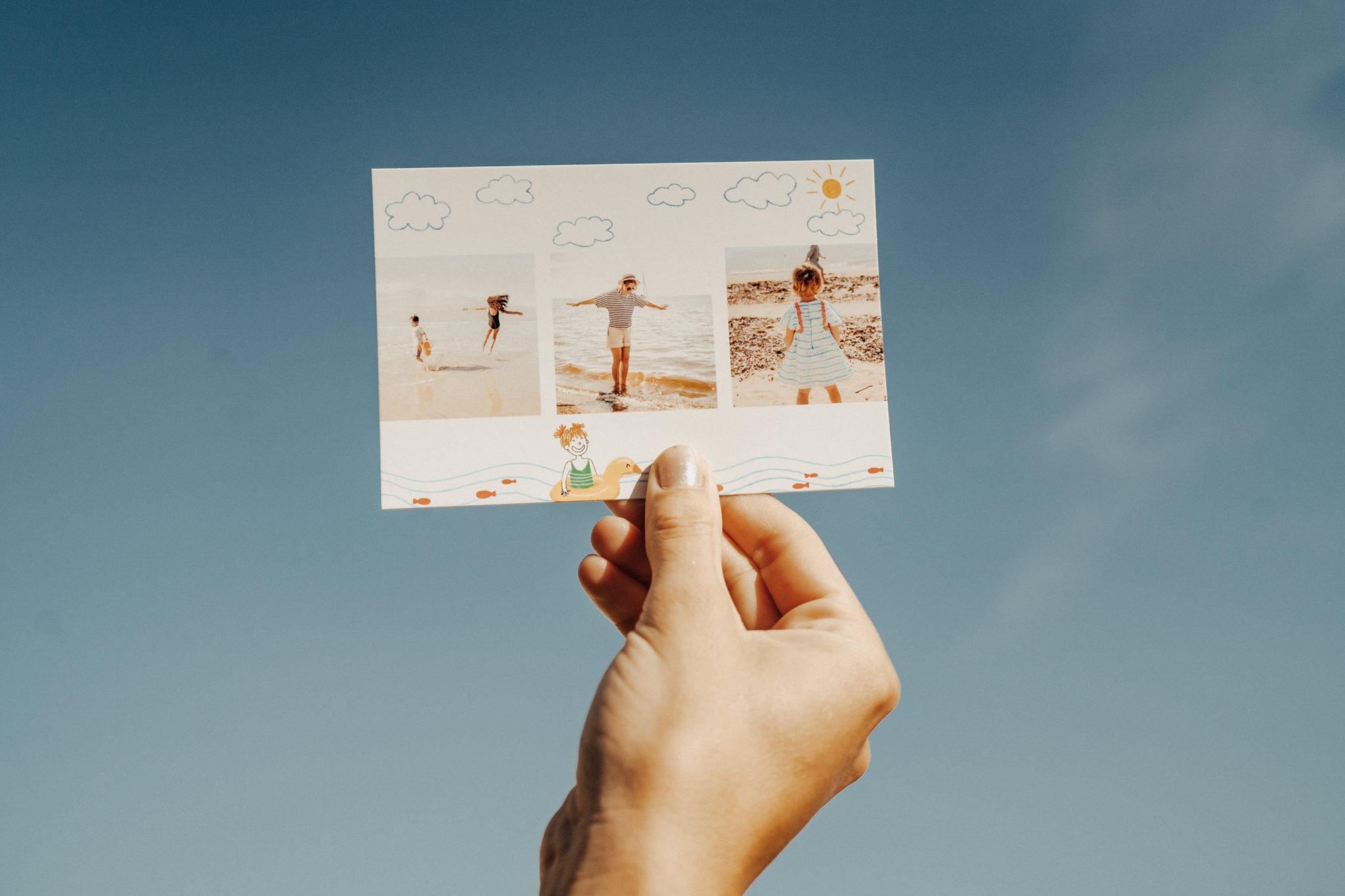postcard from Mont Saint Michel