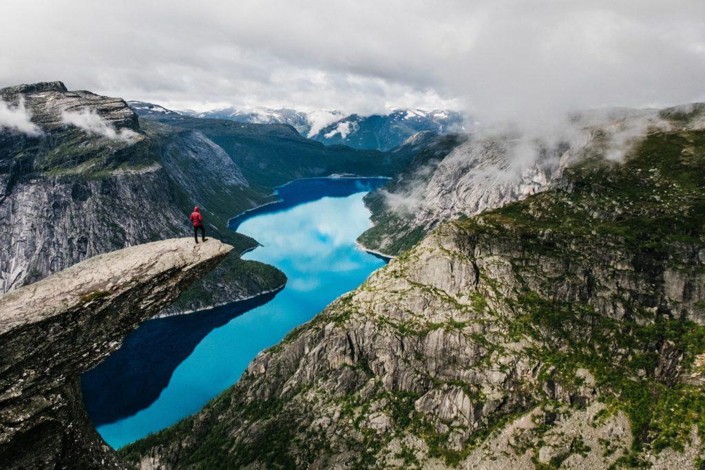 Trolltunga, Norvège