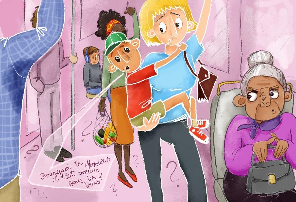 Vie de parent : les questions gênantes des enfants posées en public