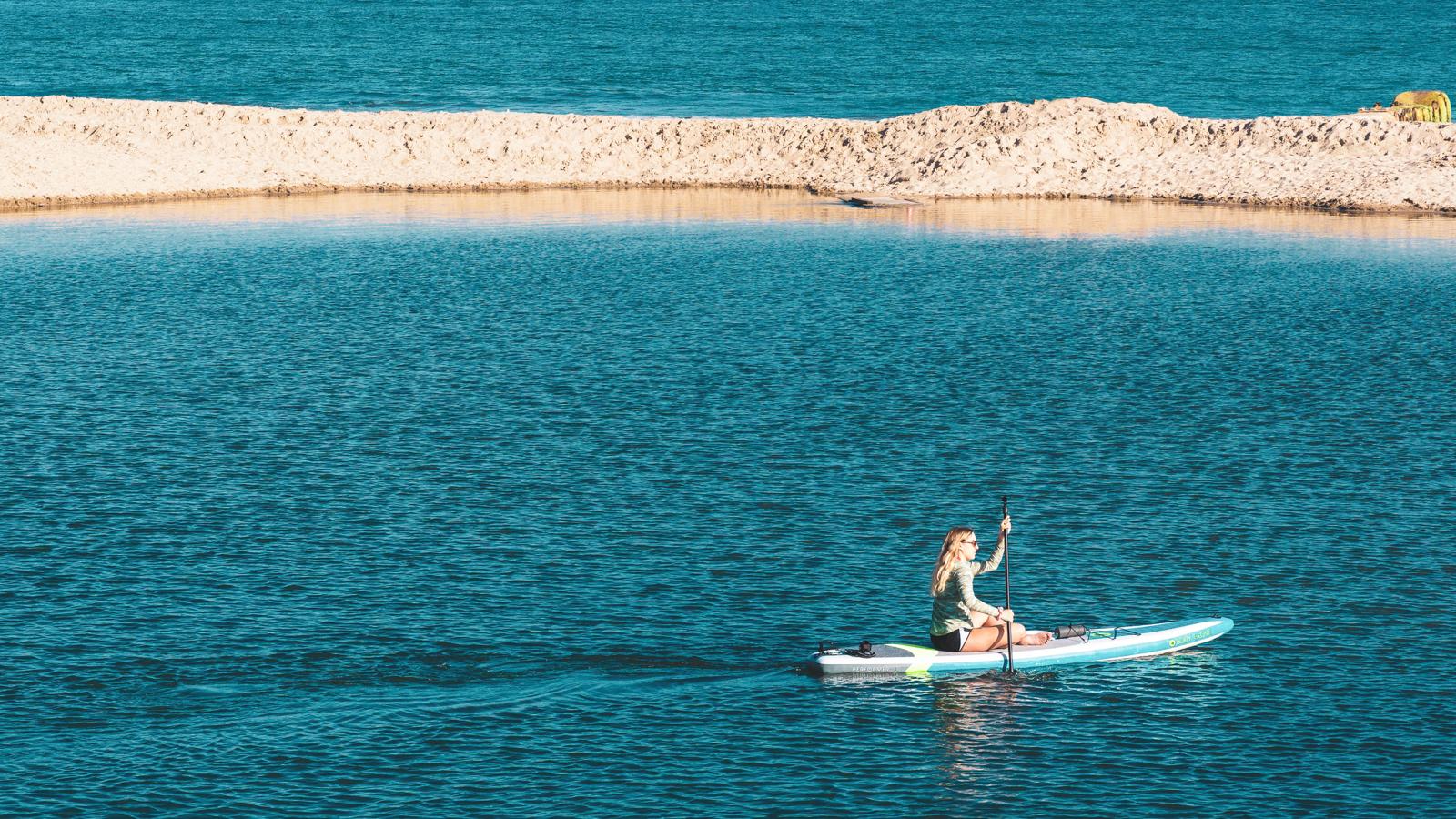 Paddle activite nautique a tester en France l'ete