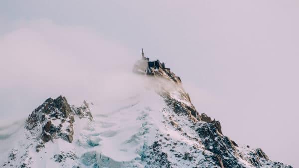 Aiguille du Midi au Mont Blanc Chamonix