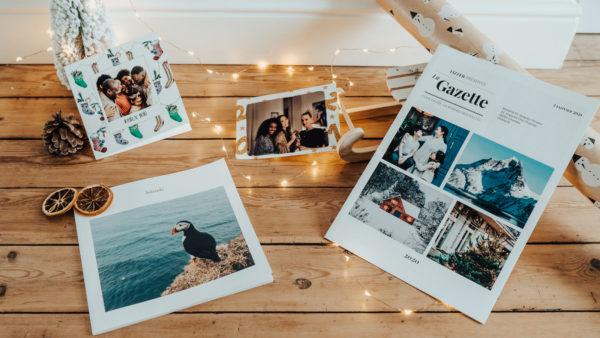 Produits Fizzer cartes personnalisees et albums photos de Noel