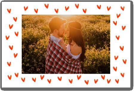 carte amour Fizzer coeur