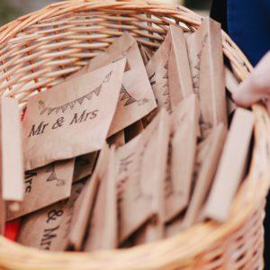 enveloppes craft pour animations de mariage