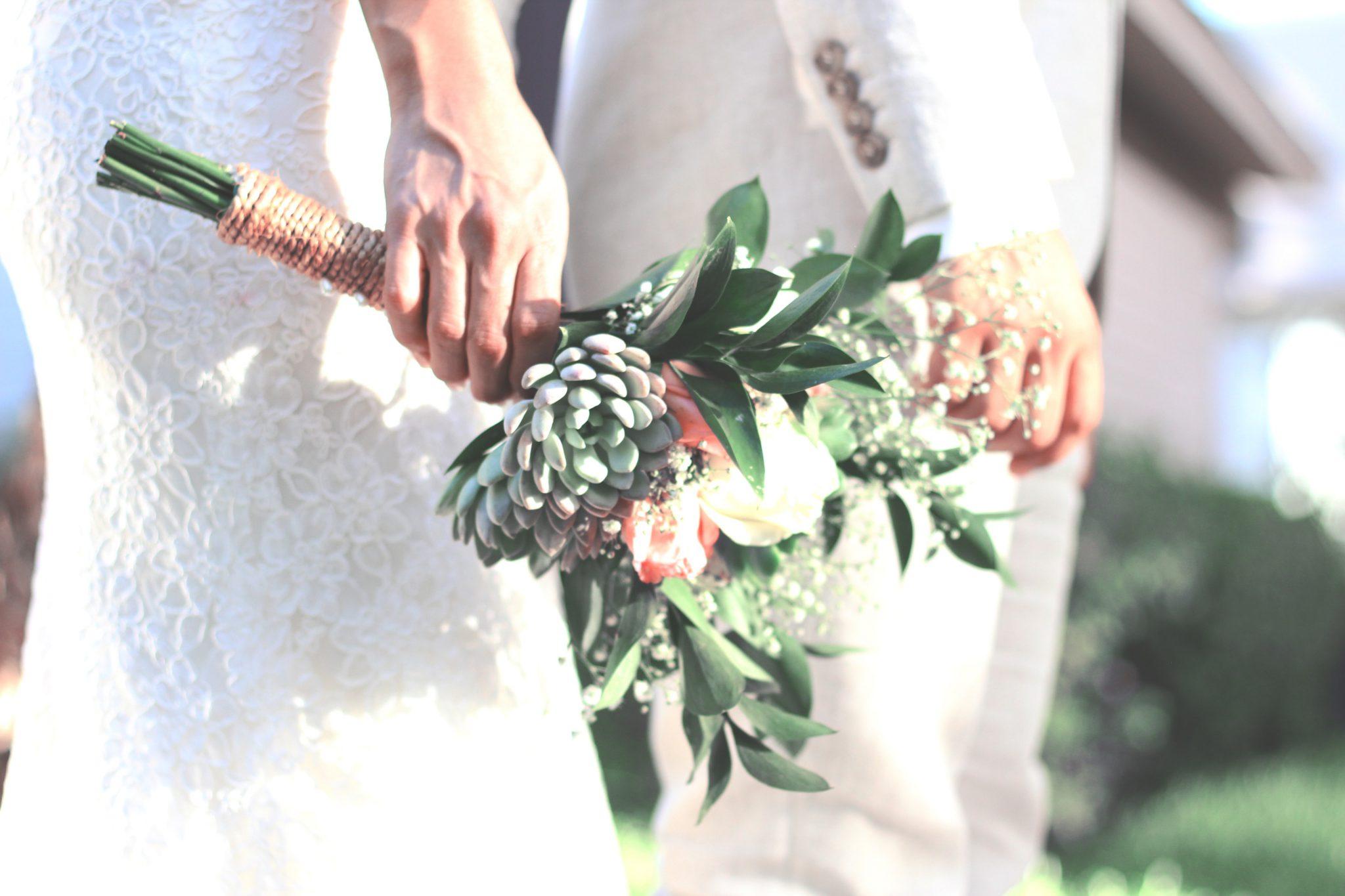 Bouquet de fleur anniversaire de mariage