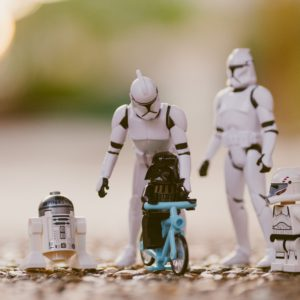 Famille star wars storm trooper