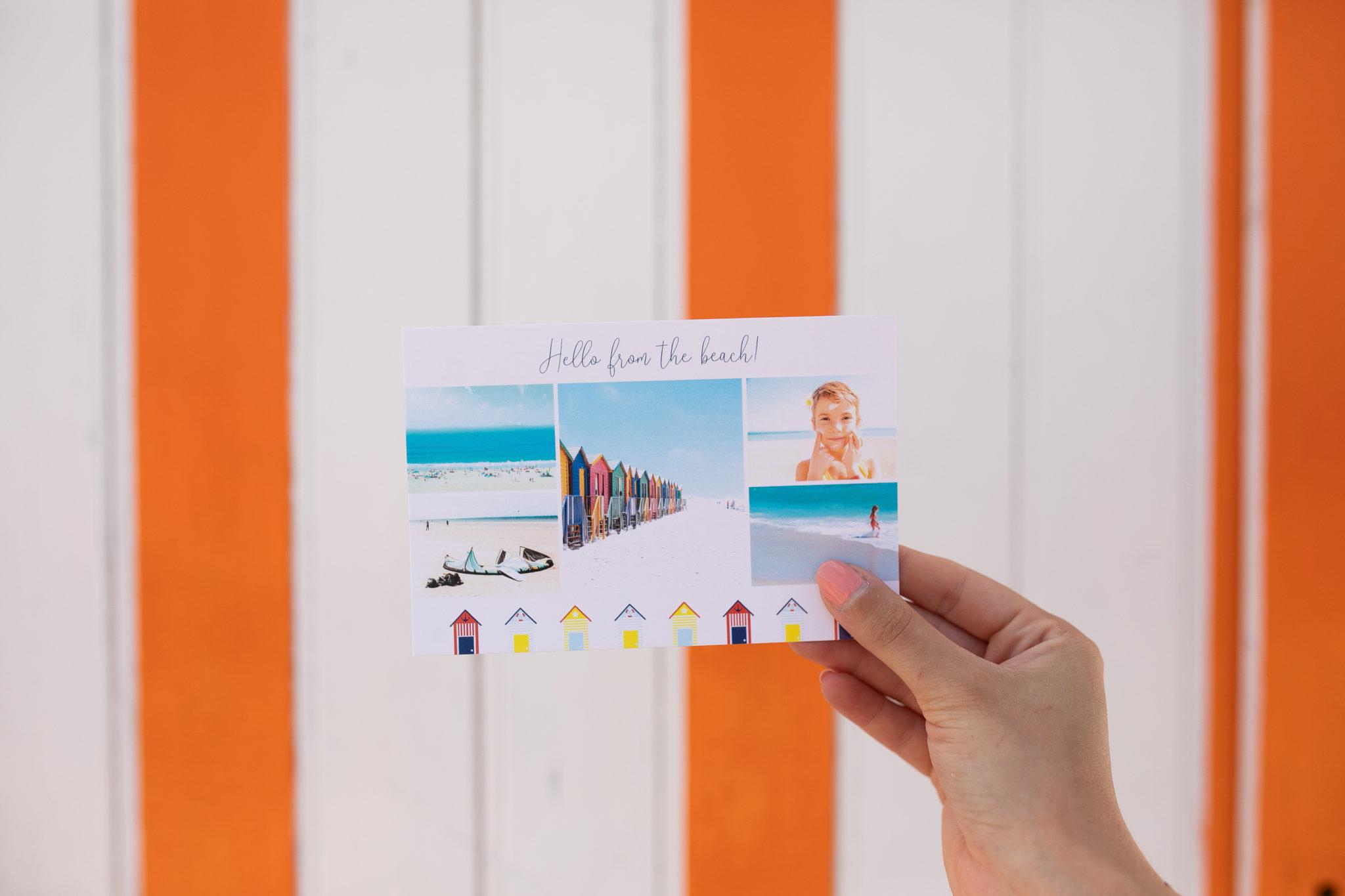 postcard from an app
