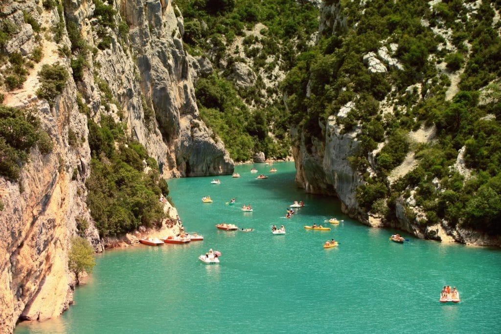 Kayak en Ardeche pour vacances d'ete en France