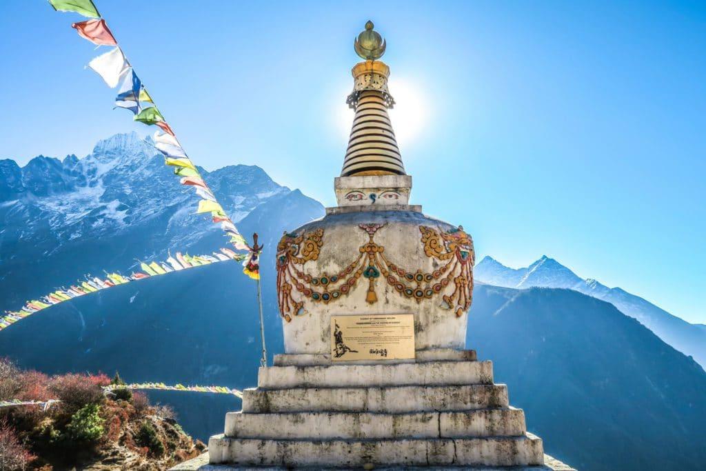 Camp de base de l'Everest au Nepal
