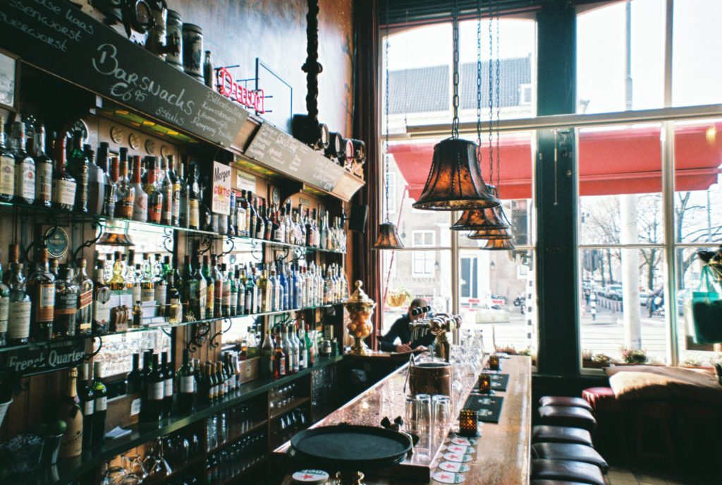 bar et tireuses à bière à Amsterdam