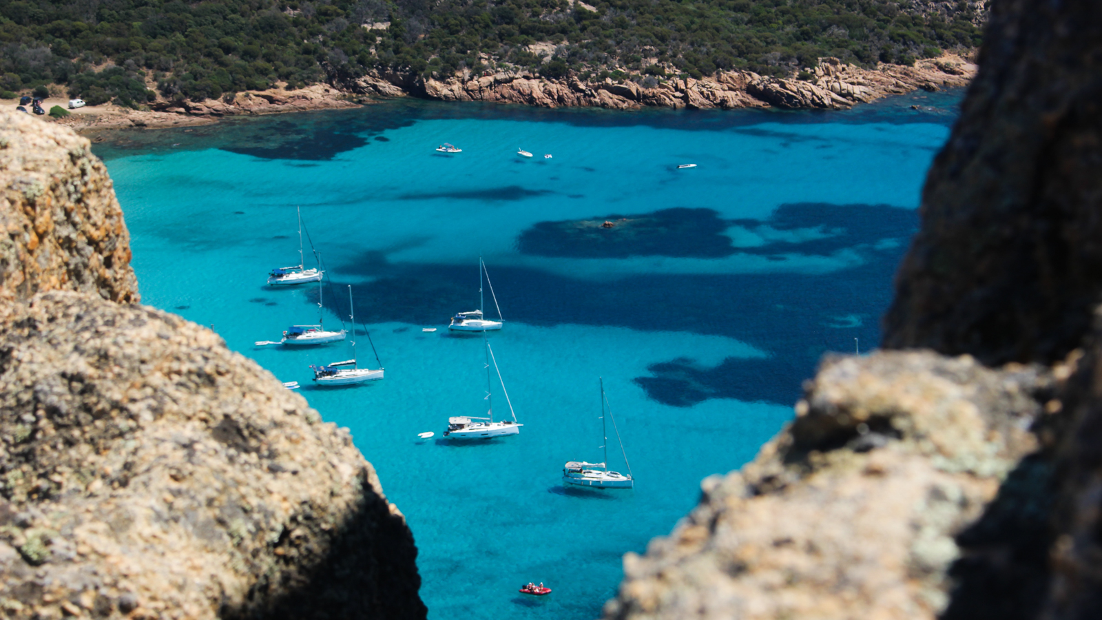 Bateau en Corse vacances d'ete