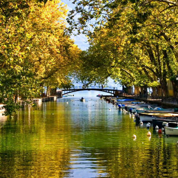 ponts des amours annecy