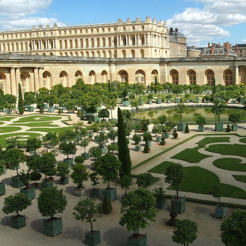 a postcard from versailles