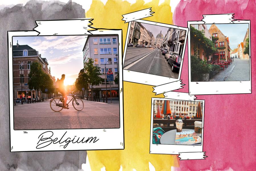 belgium-flag-postcard