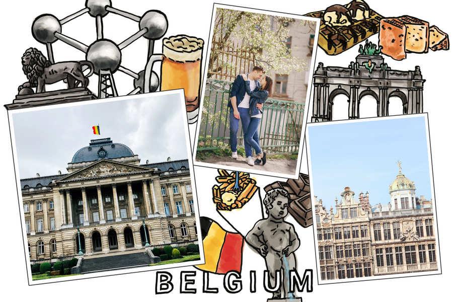 belgium-postcard