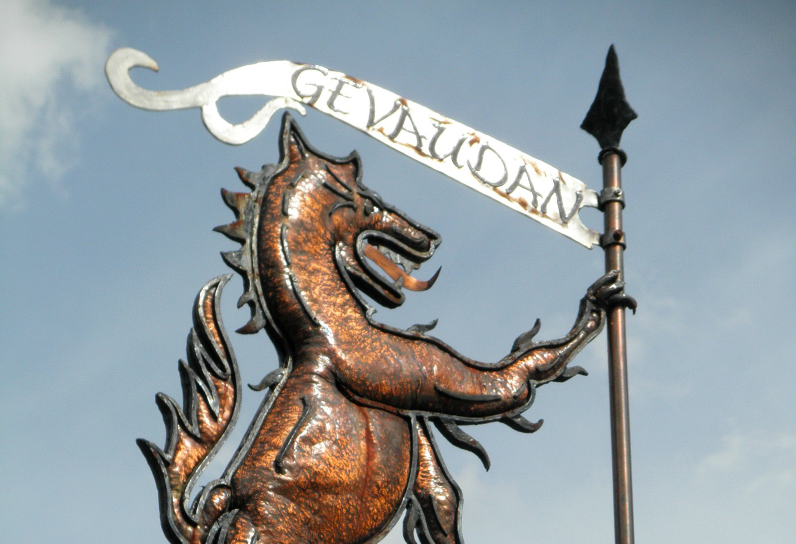 Legende de la bete du Gevaudan en Occitanie