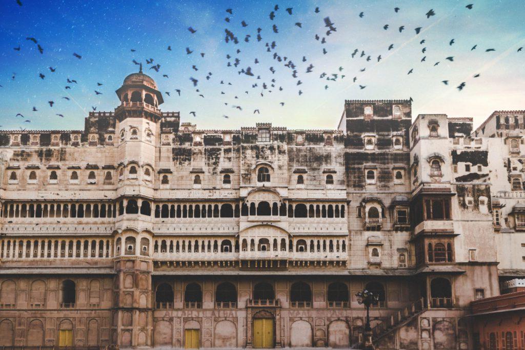 Bikaner ville rouge a decouvrir lors dun voyage en Inde