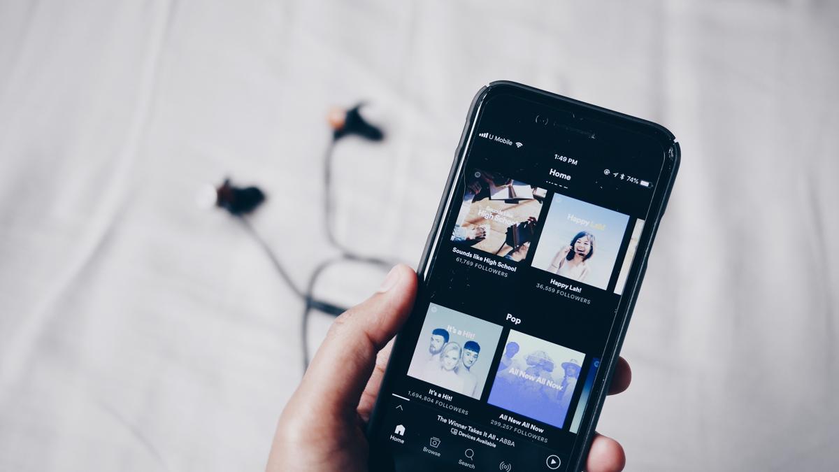 Abonnement Spotify comme cadeau de Noel pour maman