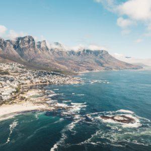 vue sur cape town, septembre mois idéal pour les baleines
