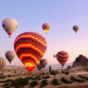 Montgolfières en Cappadoce, Turquie